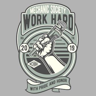 Travailler dur