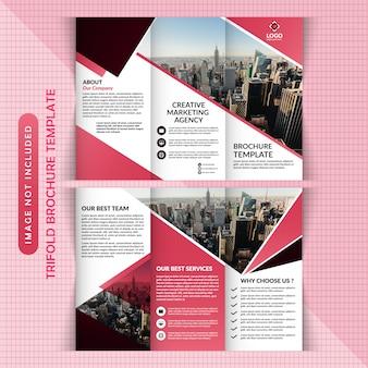 Tri brochure design