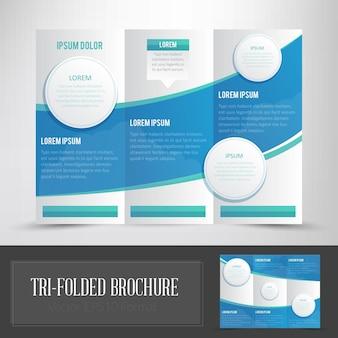 Tri folded brochure