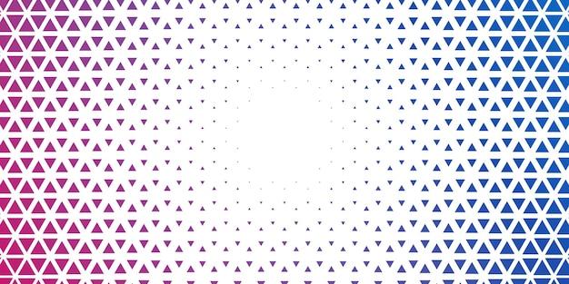 Triangle abstrait géométrique