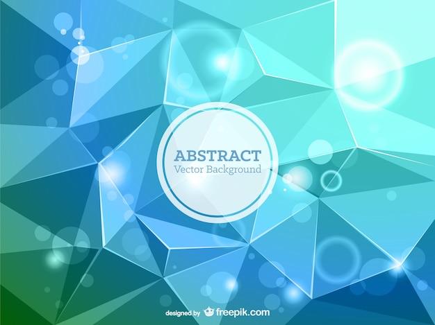 Triangle art abstrait