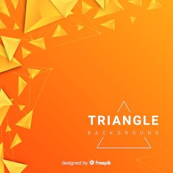 Triangle entre parenthèses