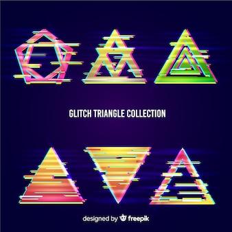 Triangle glitch collection