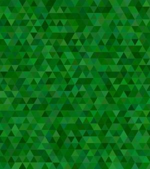 Triangle mosaïque abstraite mosaïque fond de conception