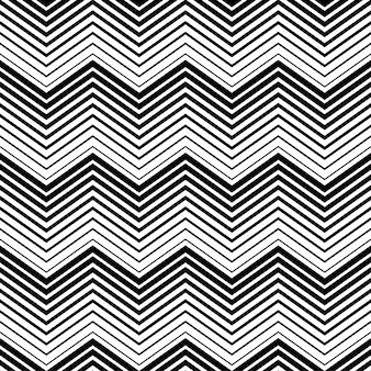 Triangle noir et blanc abstrait motif sans couture avec le style de ligne. motif de lignes sans soudure