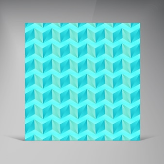 Triangle vectoriel. ombre abstraite de carte de fond