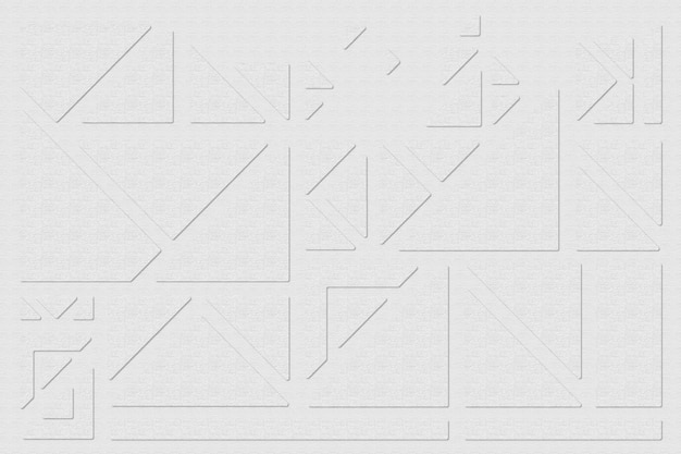 Triangles géométriques sur fond gris