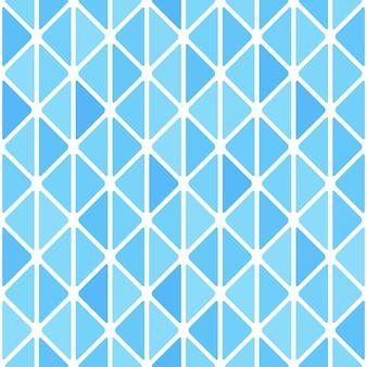 Triangles avec motif sans soudure de coins arrondis