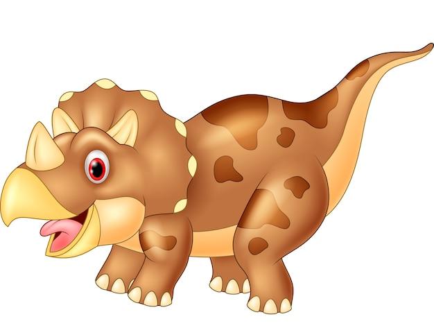 Tricératops de dinosaures