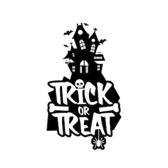 Trick o treat vector design