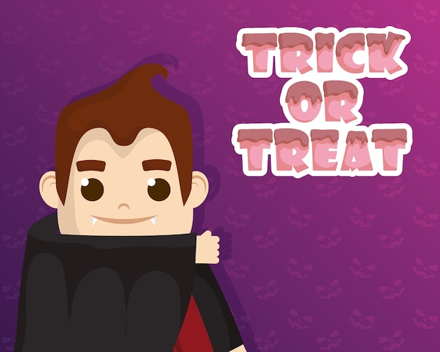 Trick of treat avec little dracula