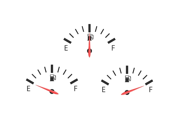 Trois chiffres de carburant