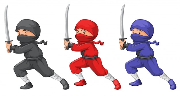Trois ninjas