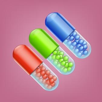 Trois pilules