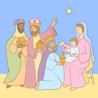 Trois rois et star