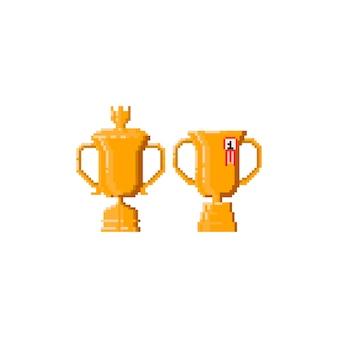Trophée pixel