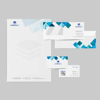 Trousse d'image de marque professionnelle comprenant une tête de lettre