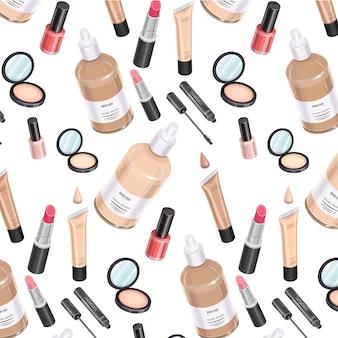 Trousse de maquillage modèle isométrique