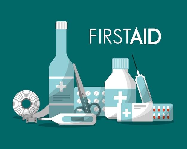 Trousse de premiers soins santé médicale