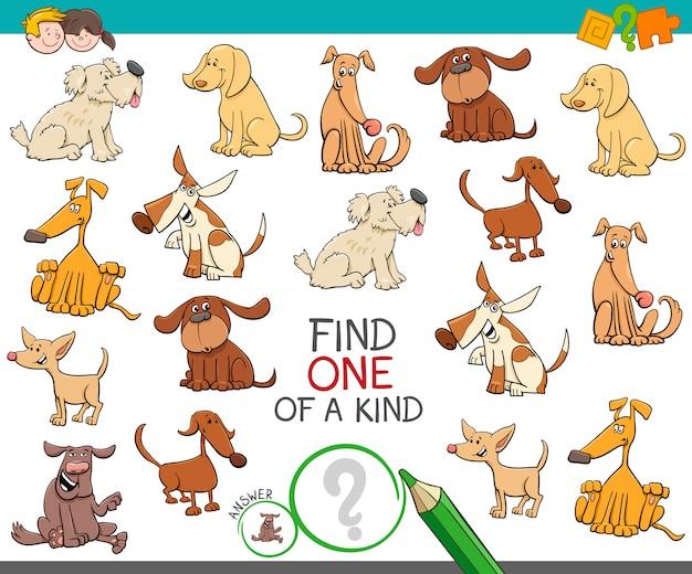 Trouver un jeu éducatif unique en son genre pour les enfants avec des chiens