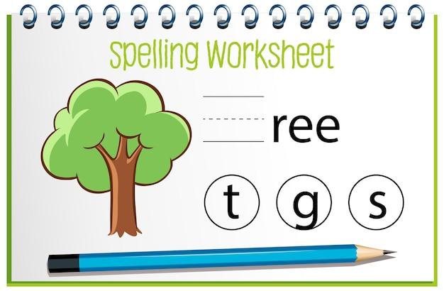 Trouver la lettre manquante avec l'arbre