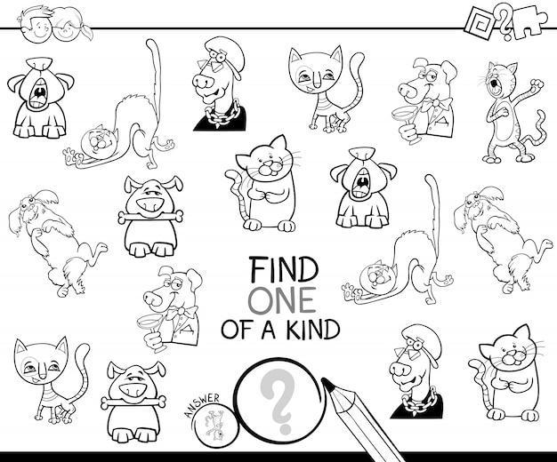 Trouver un livre de coloriage de jeu aimable