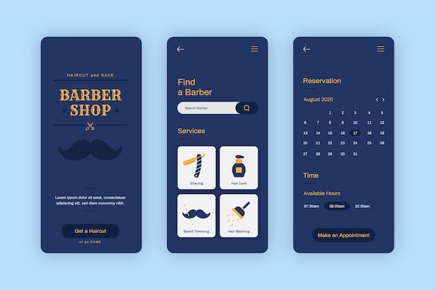 Trouver et réserver une application de réservation de barbier