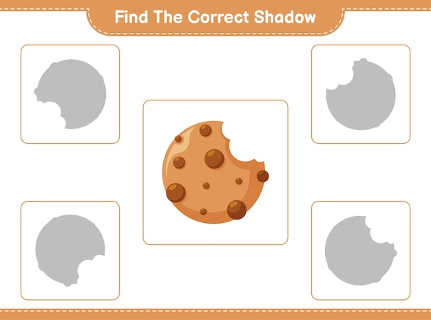 Trouvez et faites correspondre l'ombre correcte des cookies