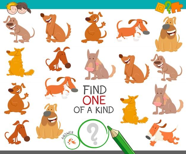 Trouvez un jeu éducatif unique avec des chiens