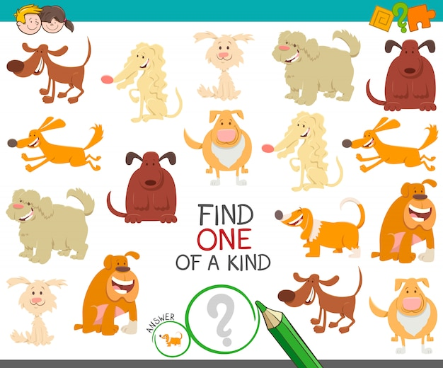 Trouvez un jeu d'images avec des chiens