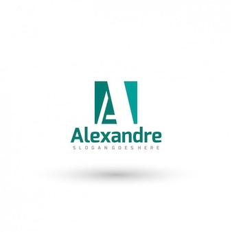 Trypographic affaires logo template