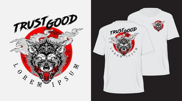 Tshirt de loup