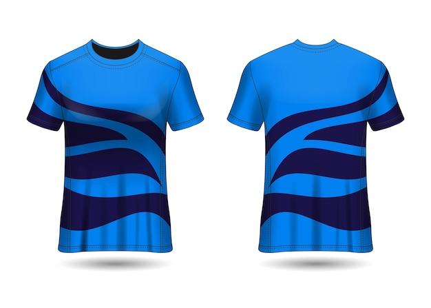 Tshirt sport design maillot de course vector