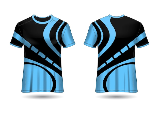 Tshirt sport design maillot racing pour club