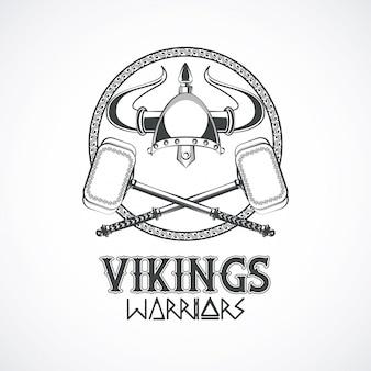 Tshirt vikings warriors imprimé