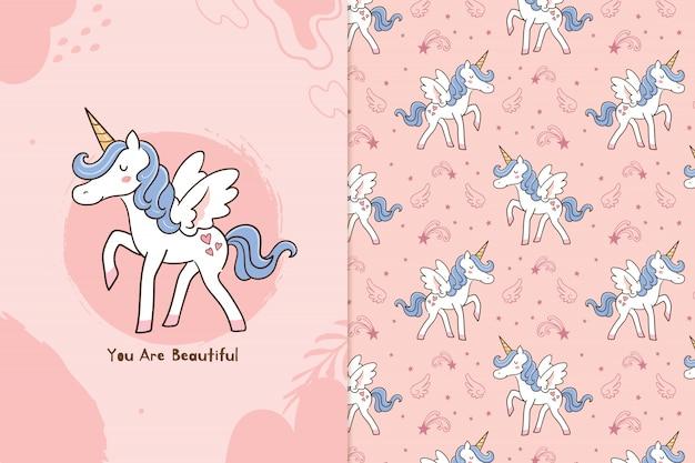 Tu es belle licorne