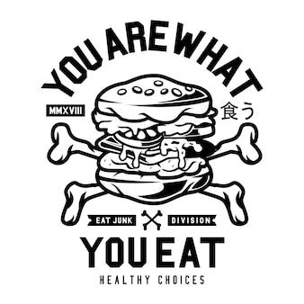 Tu es ce que tu manges