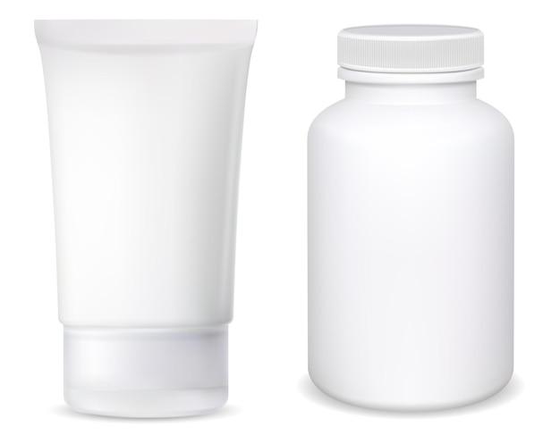 Tube de crème cosmétique