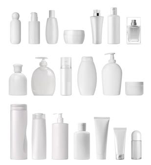 Tube de crème et spray, distributeur de savon et compte-gouttes