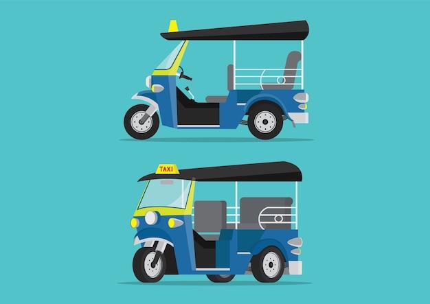Tuk tuk taxi en thaïlande