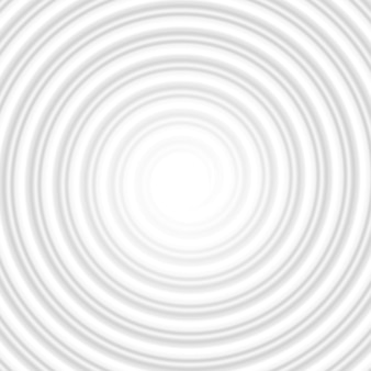 Tunnel abstrait rayé en spirale de cercle gris. et comprend également