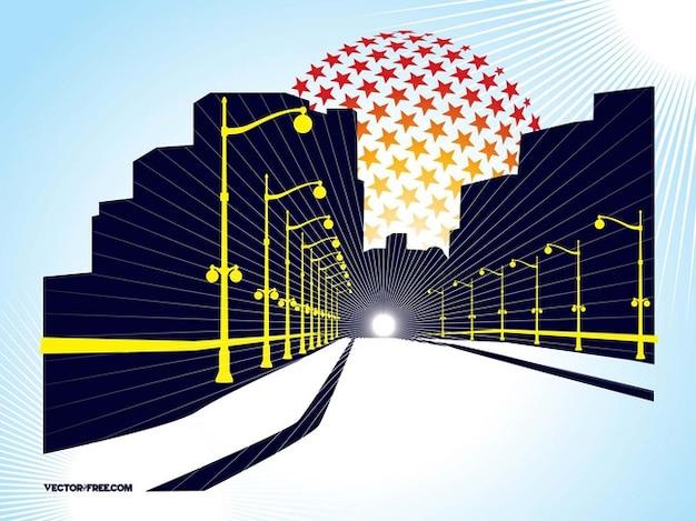 Tunnel passage de l'architecture de vision