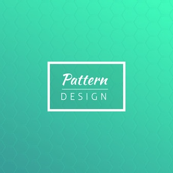 Turqoise design pattern