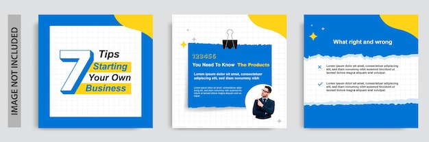 Tutoriel sur les médias sociaux, astuces, astuce, saviez-vous publier un modèle de bannière avec du papier collant