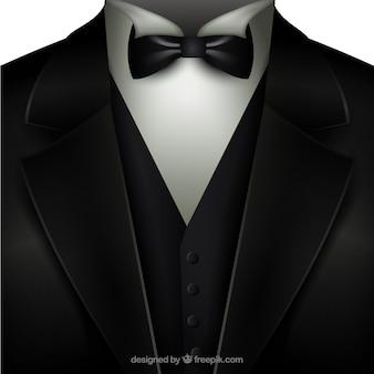 Tuxedo avec un noeud papillon