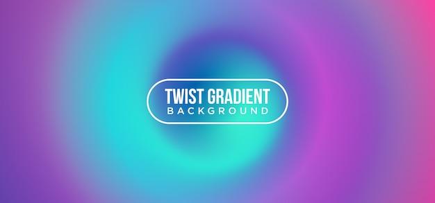 Twist fond dégradé