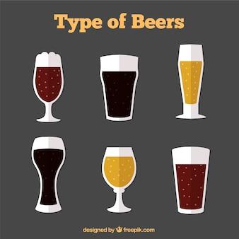 Type de bières pack