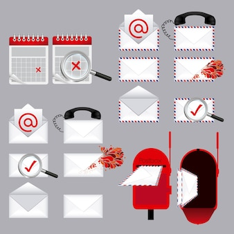 Types de courrier