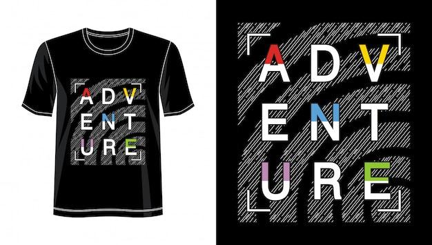 Typographie aventure