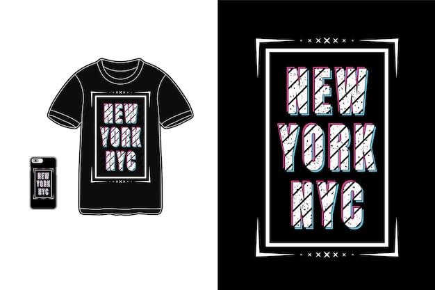 Typographie de new york nyc